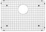 Stainless Steel Sink Grid (Fits Precision & Precision 10 sinks 515822/819)