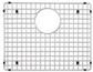 Stainless Steel Grid (Fits Precision 16'' sinks )
