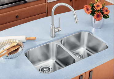 Blanco essential u 2 blanco for German made kitchen sinks