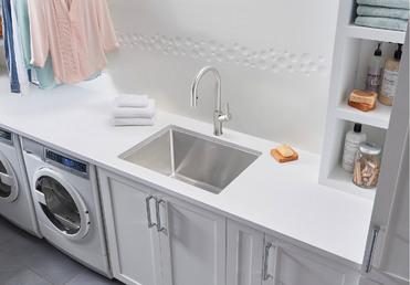Blanco Quatrus R 15 Laundry Blanco