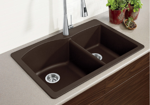 Blanco Sink Dealers : BLANCO DIAMOND 1 3/4 BLANCO
