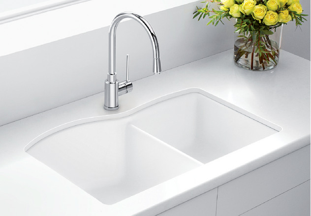 Blanco Sink Dealers : BLANCO DIAMOND U 1 3/4 BLANCO