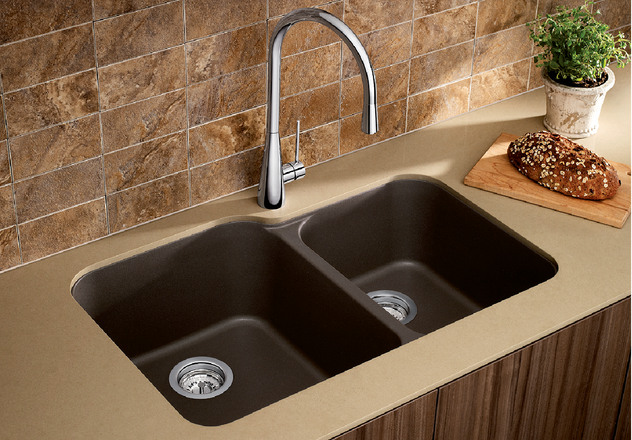 Blanco Sink Dealers : BLANCO VISION U 1 3/4 BLANCO