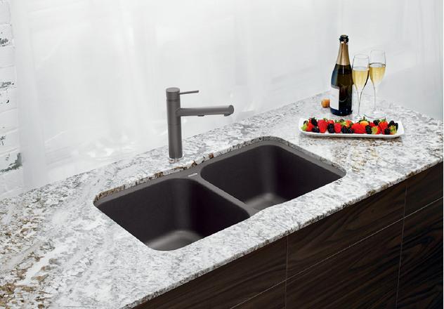 S1 Blanco Cinder Sink C10