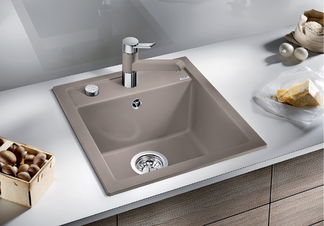 Kitchen sink for Silgranit countertops