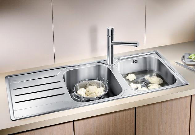 Blanco Median Sink : BLANCO MEDIAN 8 S BLANCO