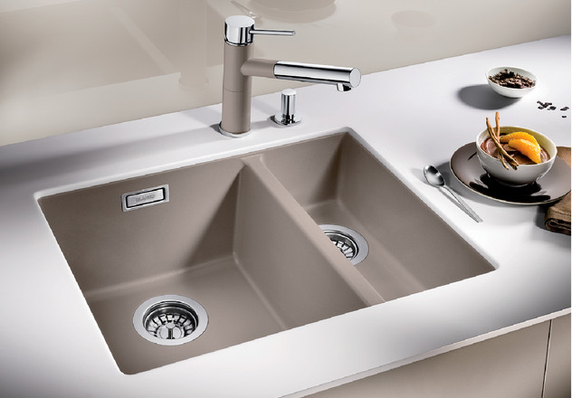 Blanco Vs Franke Sinks : BLANCO SUBLINE 340/160-U BLANCO