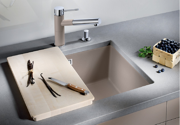 Blanco Sink Installation : BLANCO SUBLINE 500-U BLANCO