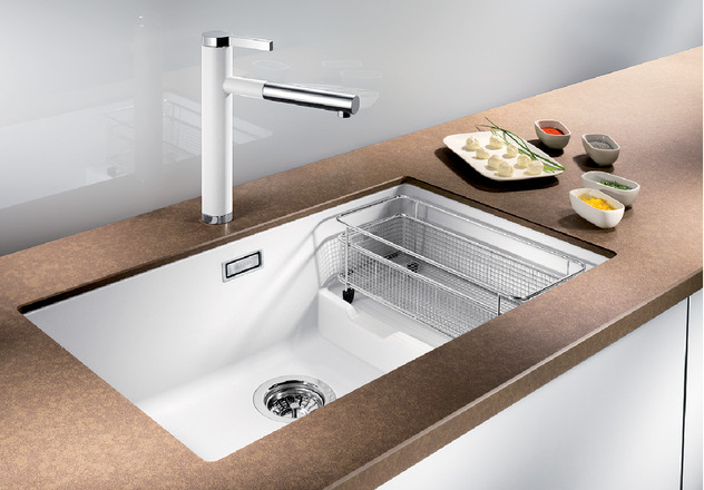 Blanco Sink Installation : BLANCO SUBLINE 700-U Level BLANCO