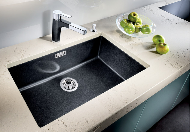Blanco Overmount Sinks : BLANCO SUBLINE 700-U BLANCO