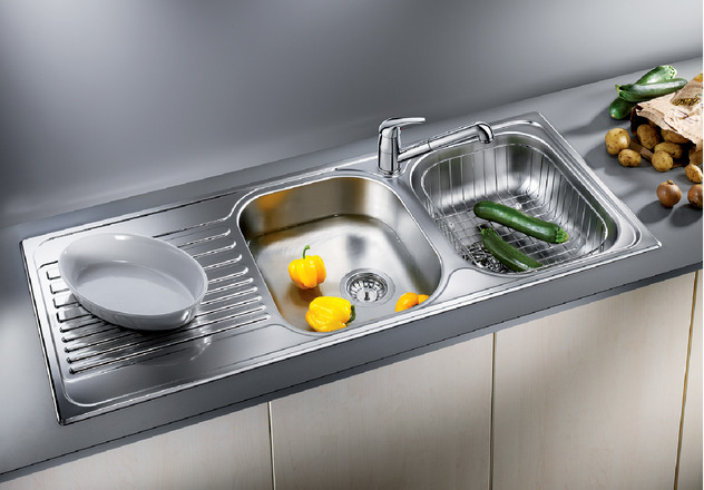 Blanco tipo 8 s blanco for German kitchen sinks