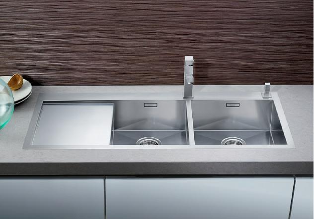 BLANCO ZEROX 8 S-IF BLANCO. . Blanco Flush Mount Sink ...