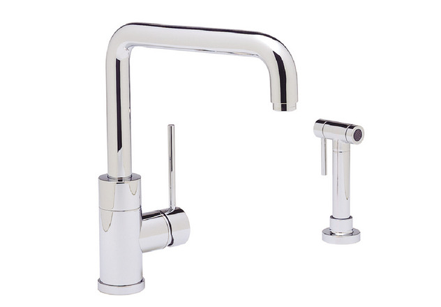 Blanco Faucets Usa : BLANCO PURUS I? with metal side spray Blanco