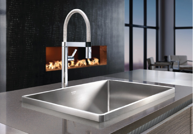 Captivating This Drop In Sink Features A Raised Architectural Rim That Draws Your Eye  Like A Piece Of Art. BLANCO STEELART®, Handcraftsmanship At Its Finest.