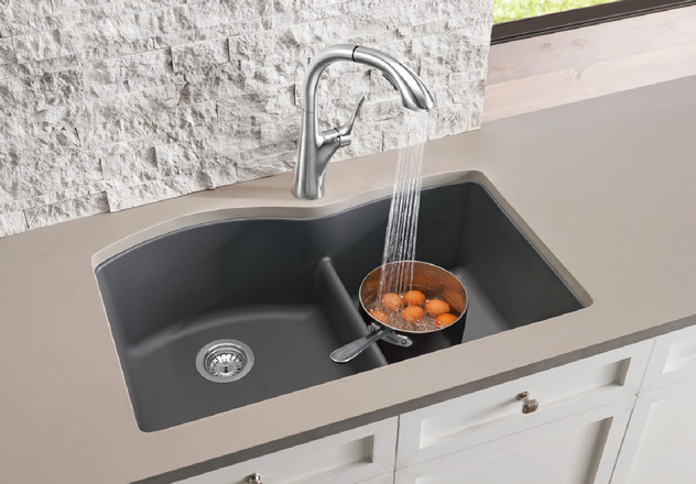 Nice Of Course The Good Looks Draw You In But The Functionality Is What Youu0027ll  Love Day To Day. This New DIAMOND™ 1 3/4 Sink With Low Divide Offers 8  Color ...