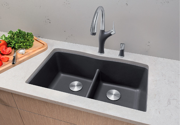 Blanco Sink Dealers : BLANCO DIAMOND U 2 LOW DIVIDE BLANCO