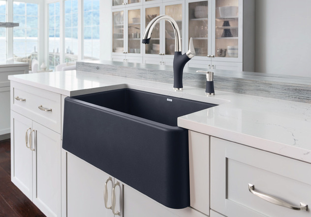 Blanco Apron Sink : Introducing BLANCO IKON? - the apron front sink now in BLANCOs ...