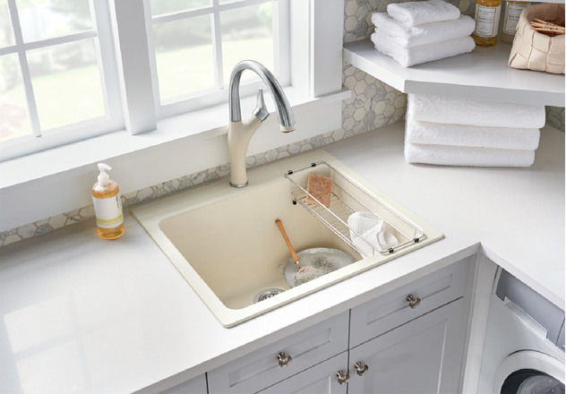 Blanco Liven Laundry Sink Blanco