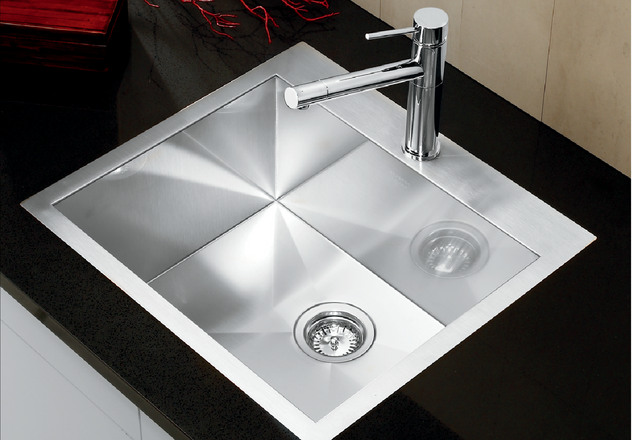 Blanco Sink Clips : BLANCO PRECISION? MicroEdge? 20 Single Bowl with Ledge Blanco