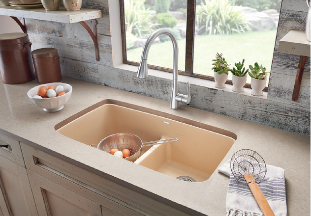 Blanco Valea 174 Equal Double Bowl With Low Divide Blanco