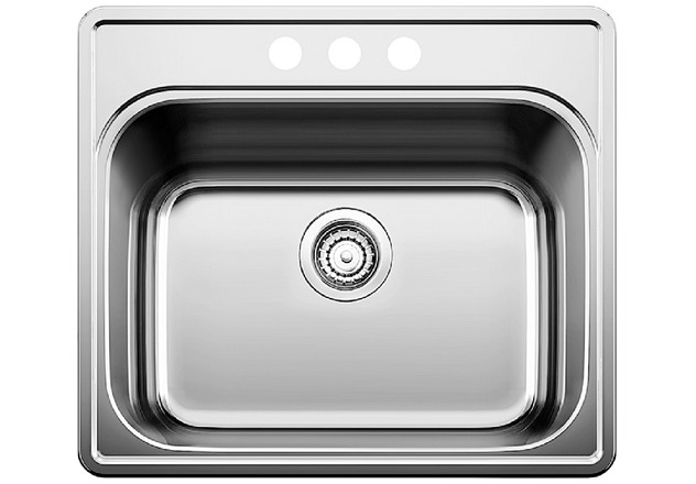BLANCO ESSENTIAL? LAUNDRY SINK Single Bowl - 3 hole Blanco